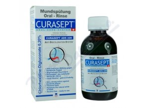 CURAPROX CURASEPT ADS 220 ústní voda 0.20% (200ml)