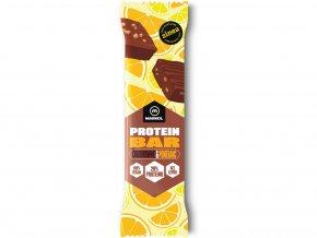 Proteinová tyčinka Čokobrownie a pomeranč 40g
