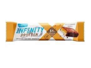 Tyčinky Infinity protein Slaný karamel s arašídy 55g