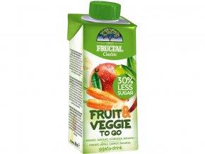 Nápoj FRUIT+VEGGIE mango, mrkev 200ml