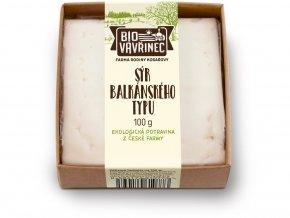Bio Sýr balkánského typu 100g