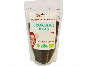 Bio brokolice Raab, semínka ke klíčení 200g
