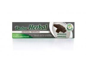 Herbal zubní pasta s aktivním uhlím 131g
