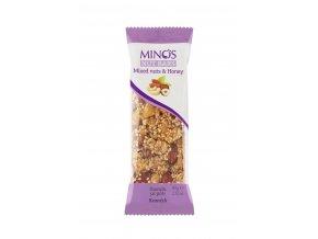 Tyčinka ořísková v medu Mix ořechů 60g