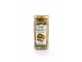Olivy plněné mandlemi 240g