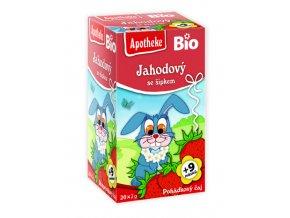 Bio Pohádkový čaj Jahodový se šípkem 20x2g
