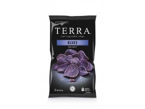 Zeleninové chipsy Blues 110g