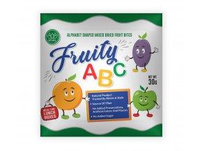Sušené ovoce v podobě písmen 30g