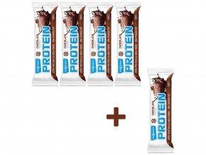 Tyčinka proteinová čokoláda 60 g AKCE 4+1