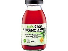 Šťáva 100% rajče - celer 200ml