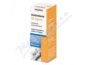 AMBROBENE GTT (SOL 40ML 7.5MG/ML)