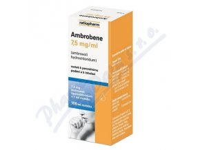 AMBROBENE SOL (SOL 100ML 7.5MG/ML)