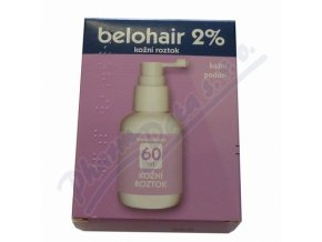 BELOHAIR 2% (DRM SOL 1X60ML)