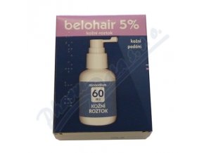 BELOHAIR 5% (50MG/ML DRM SOL 1X60ML)