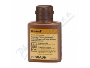 BRAUNOL (75MG/G DRM SOL 1X100ML)