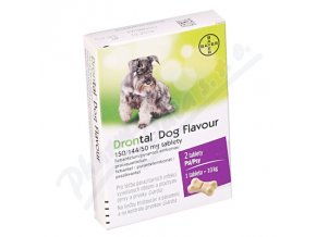 Drontal Dog Flavour 150/144/50mg (tbl 2)
