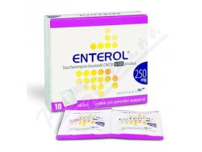 ENTEROL (PLV SUS 10X250MG)
