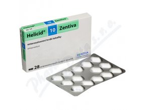 HELICID 10 (CPS 28X10MG)
