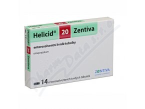HELICID 20 (CPS 14X20MG)