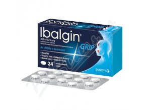 IBALGIN GRIP 200MG/5MG (TBL 24)