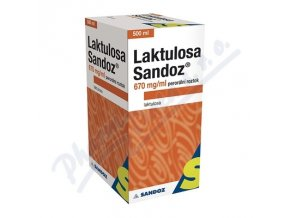 LAKTULOSA SANDOZ 670 MG/ML (500ML)
