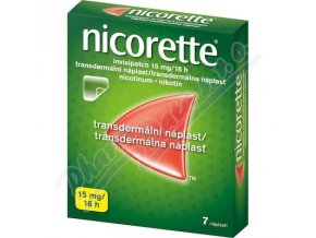 NICORETTE INVISIPATCH 15 MG/16 H (TDR EMP 7X15MG)
