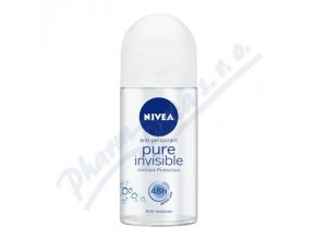 NIVEA Deo ženy PURE INVISIBLE kulička (50ml)