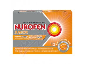 NUROFEN JUNIOR POMERANČ 100MG  (CPS MDM 12)