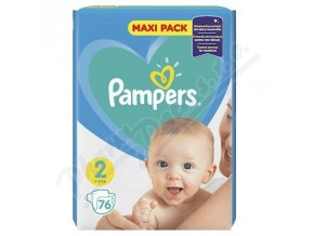 PAMPERS New Baby 2 Mini (76ks)