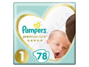Pampers Premium Care 1 Newborn  (78ks)