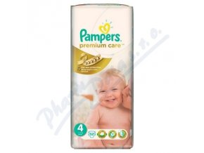 PAMPERS Premium Care 4 Maxi 52ks ()