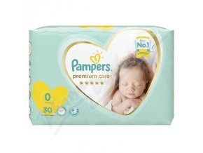 Pampers Premium Care Pack S0 30 ks Newborn ()