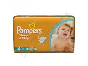 PAMPERS SLEEP&PLAY MAXI 7-18KG (50KS)