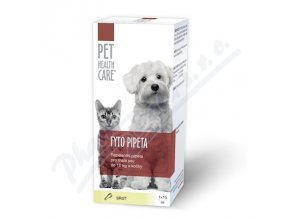 PET HEALTH CARE Fytopipeta pes,kočka (1x15ml)