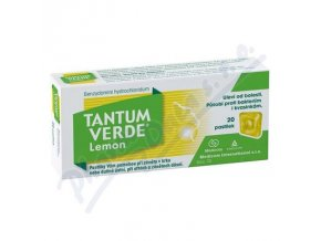 TANTUM VERDE LEMON (LOZ 20X3MG)