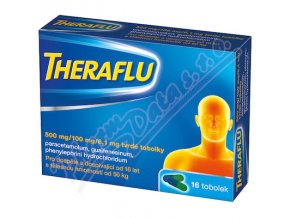 THERAFLU 500mg/100mg/6,1mg (cps 16)