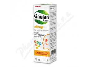W Sinulan Forte allergy nosní sprej  (15ml)