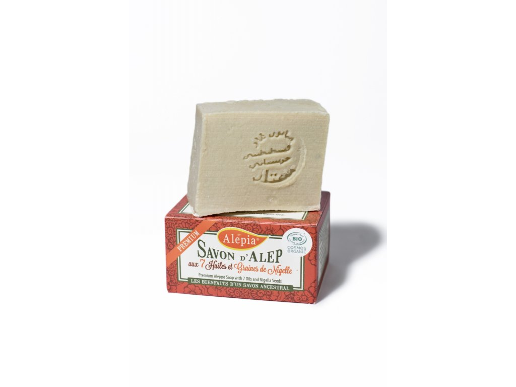 Prémiové mýdlo se 7 oleji a semínky z černuchy 125g