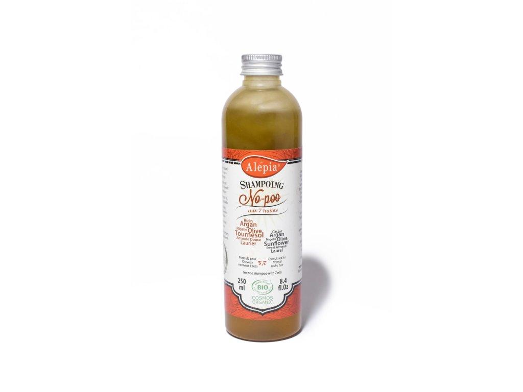 Královský šampón se 7 přírodními oleji 250 ml