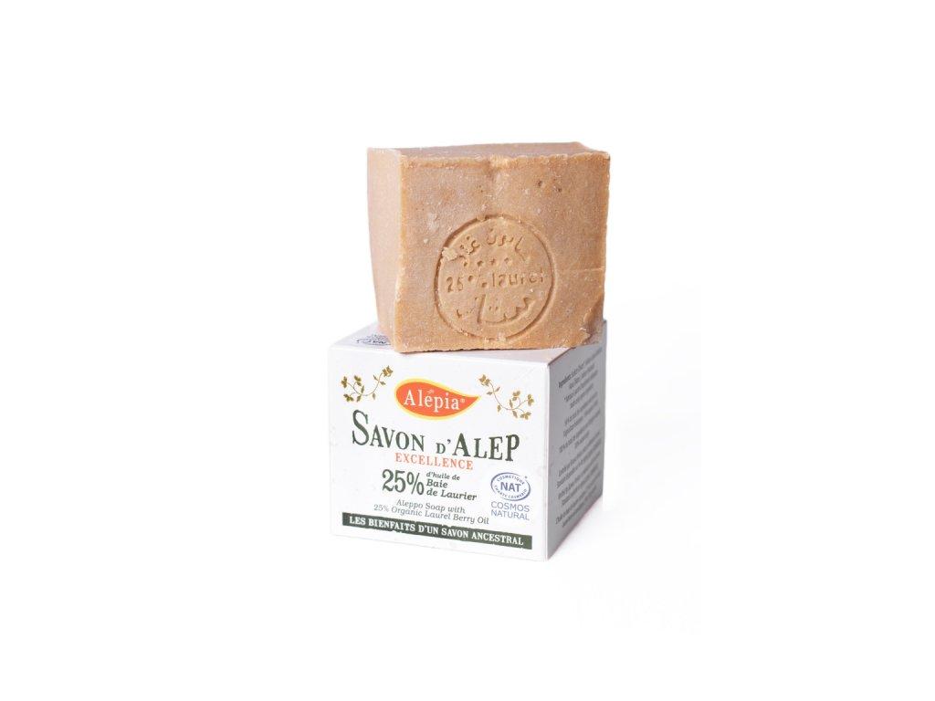 Excelentní mýdlo pro pleť se sklonem kakné, ekzému nebo lupence, 25% vavřínového oleje, 190 g