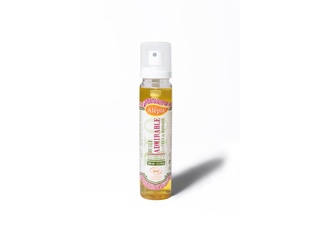 Suchý olej Admirable na obličej, tělo i vlasy -  100 ml