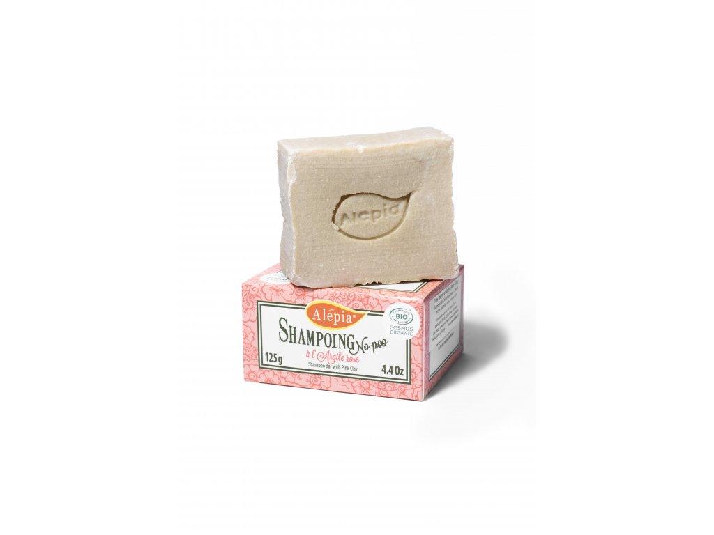 Tuhý mýdlový šampón s růžovým jílem BIO