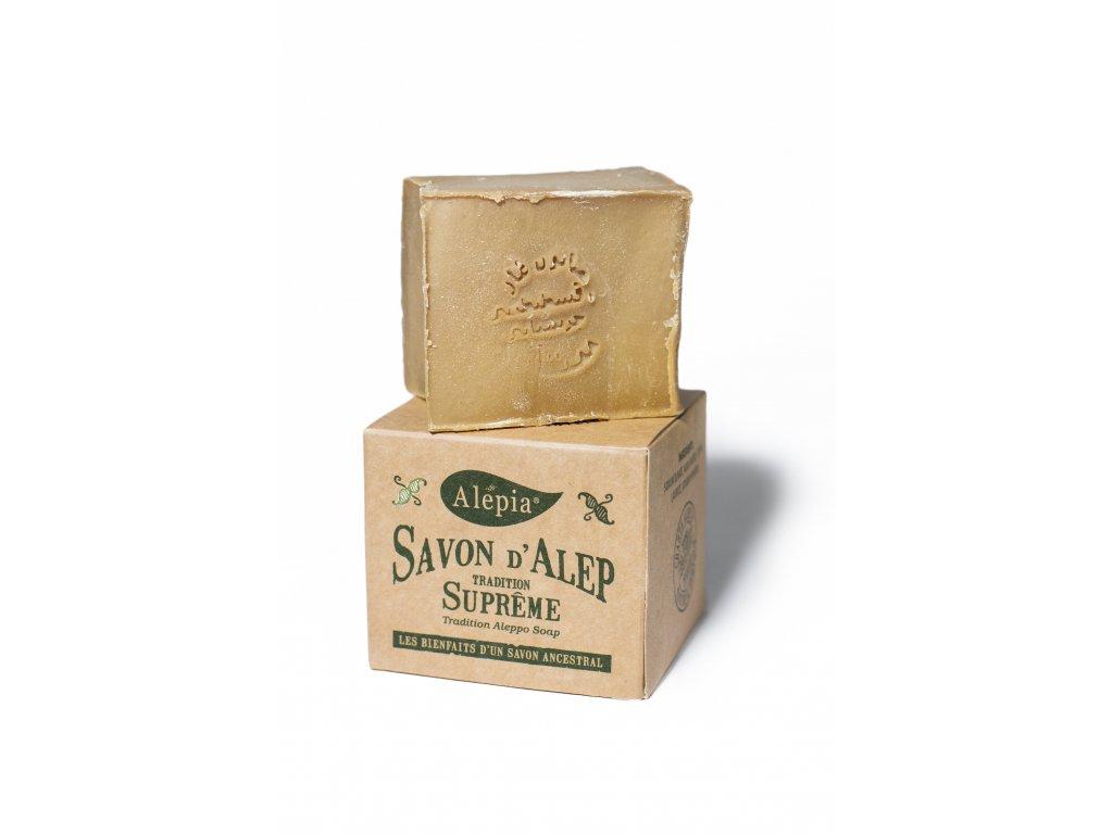 Tradiční aleppské mýdlo s 1 % vavřínového oleje 190 g