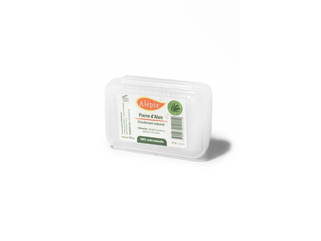 Přírodní deodorant z kamence - krabička 100 g