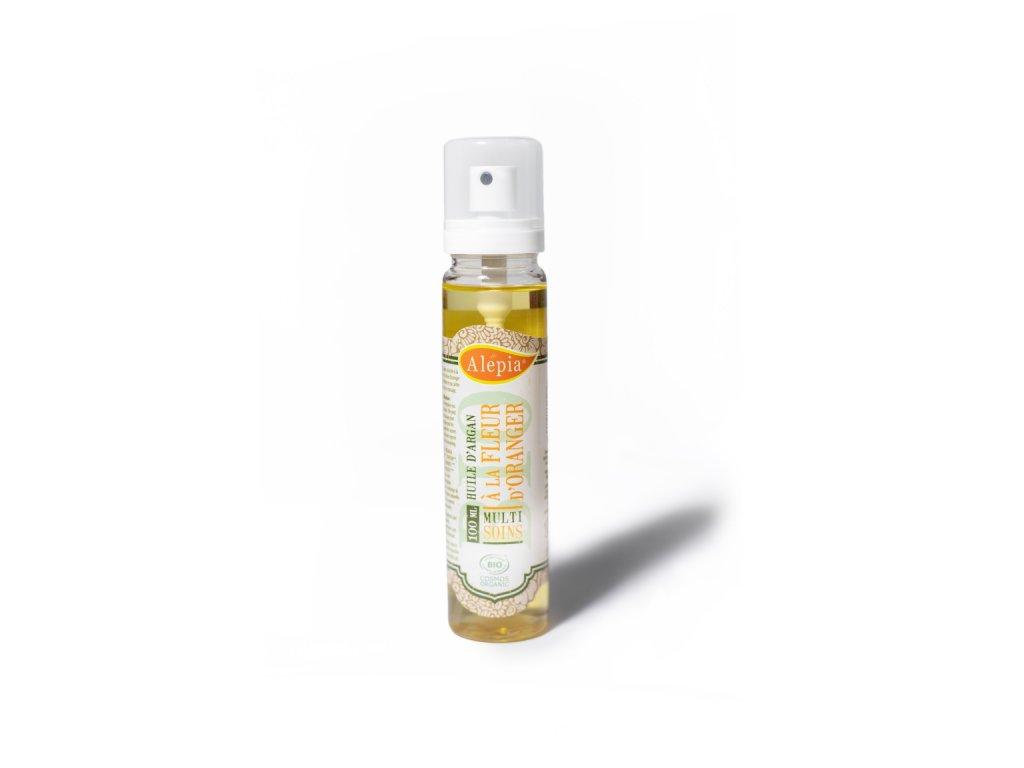 Arganový olej s pomerančovými květy
