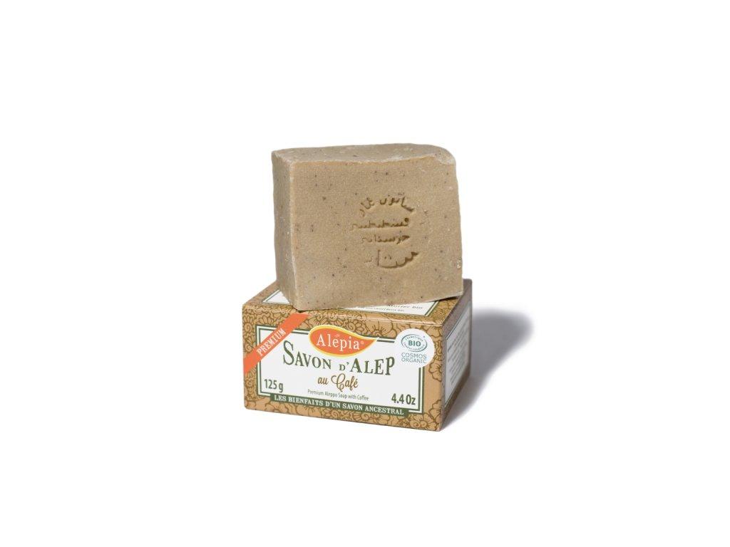 Prémiové kofeinové mýdlo ideální na masáže - 125g