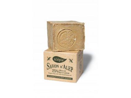 Tradiční aleppské mýdlo s 25 % vavřínového oleje 190 g