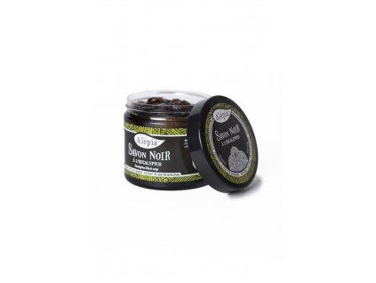 Savon noir peelingové mýdlo s eukalyptem 200 ml