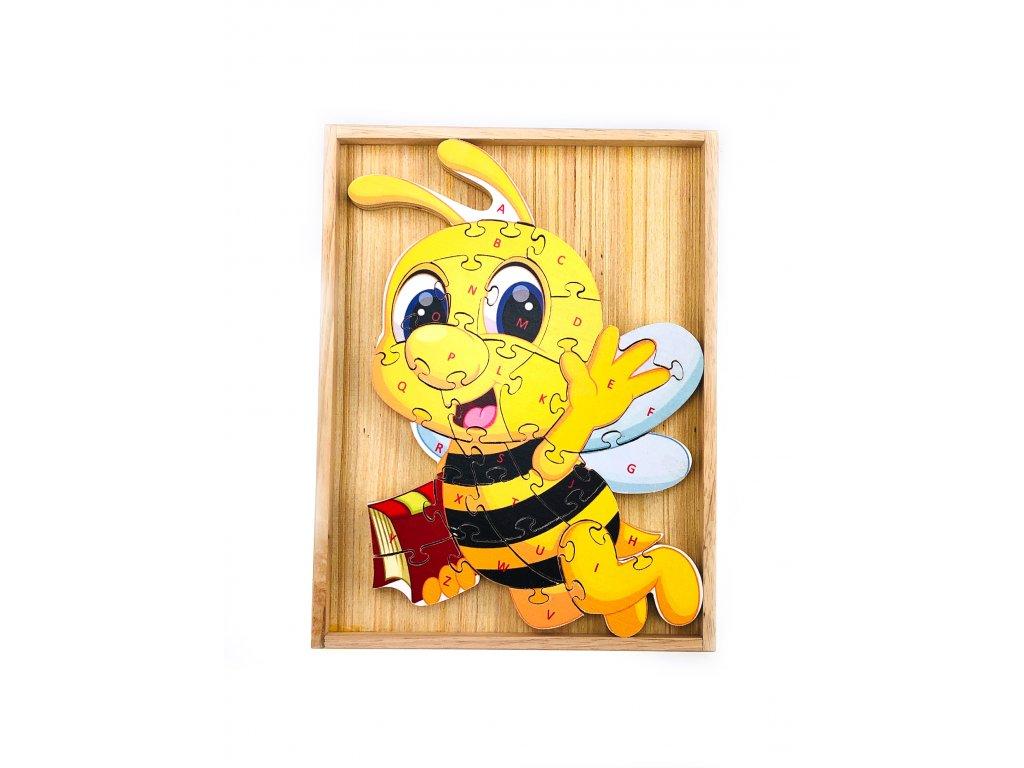 Vzdělávací puzzle - Včelka