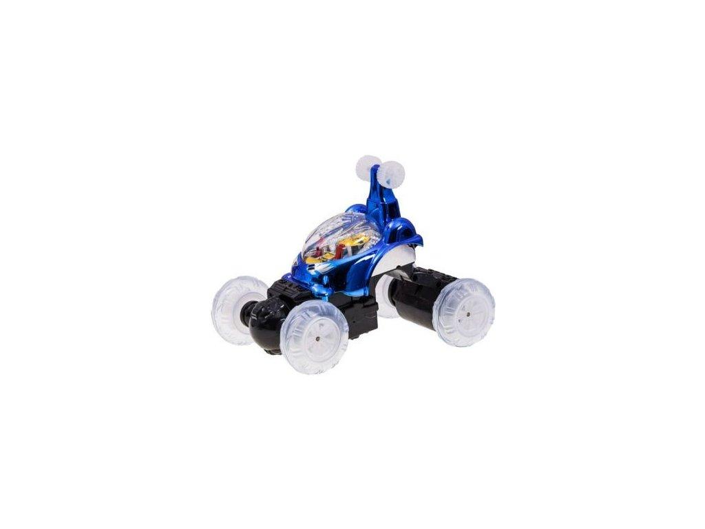 Kosmické auto na dálkové ovládání STUNT CAR (Barva Modrá)